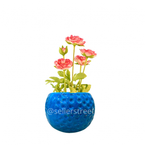 Sellerstreets Designer Ceramic Blue Planter |  Small Planter | Ideal for all purpose gifting