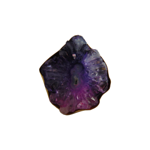 Agate Ring - Purple